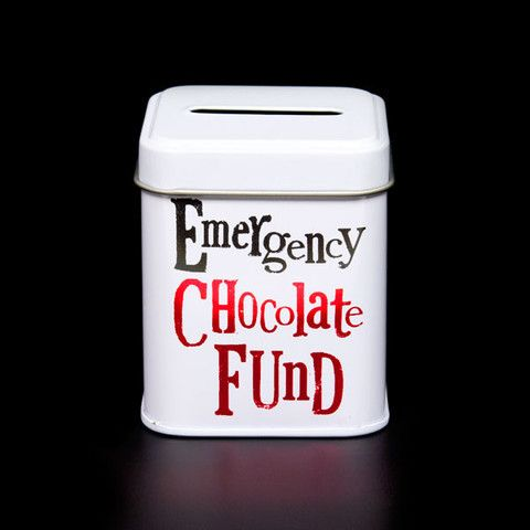 The Bright Side Mini Money Tin - Emergency Chocolate Fund – Feathering Your Nest