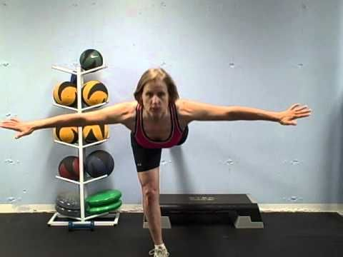 Ski exercises for legs & knees, by Marjorie Bowen, also excellent for skaters!