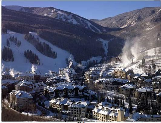 Vail, Colorado, is located 100 miles west of Denver, is the number one Ski Resort in North America and one of the top 5 ski destinations in the world. It is best known for having the largest single mountain in North America, its terrain, snow conditions, and challenging courses.