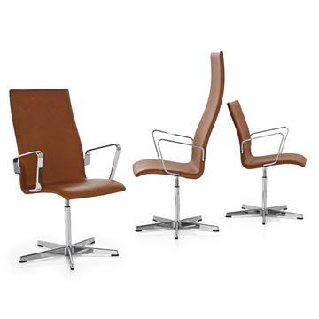 High Back Fritz Hansen Oxford Armchair   Style # 3271 3273, Modern Dining  Chairs