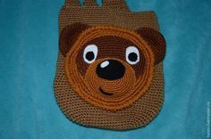 Вяжем крючком детский рюкзак «Винни-Пух». Часть 1 - Ярмарка Мастеров - ручная работа, handmade