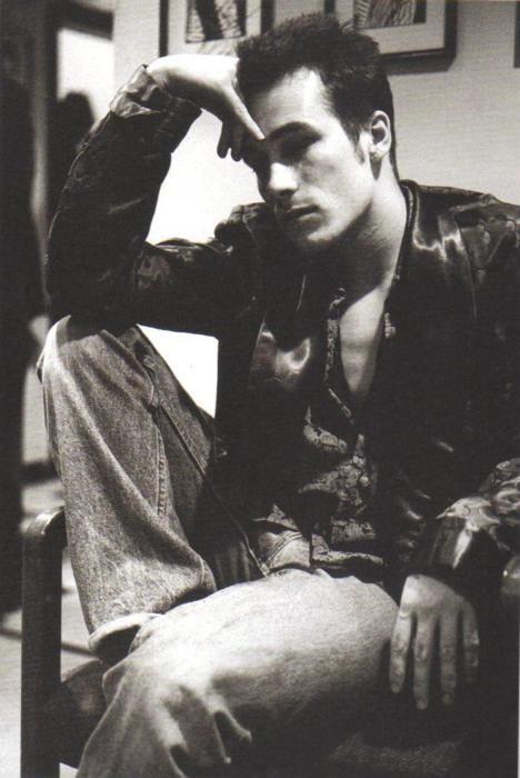 Photo of Jeff Buckley taken by Linda McCartney
