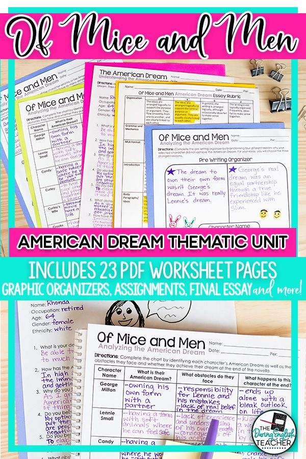 Custom Term Papers And Essays Of Mice And Men The American Dream Thematic Unit  My Tpt Store  English  Lessons Teaching Thematic Units Ip Writing Services also Reports To Buy Of Mice And Men The American Dream Thematic Unit  My Tpt Store  Business Essay Writing Service