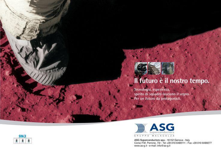 ASG - Old Advertising - Il futuro è il nostro tempo