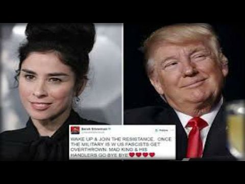 SARAH SILVERMAN CALLS FOR A MILITARY COUP AGAINST TRUMP THEN GETS THE WORST NEWS OF HER LIFE!! - YouTube