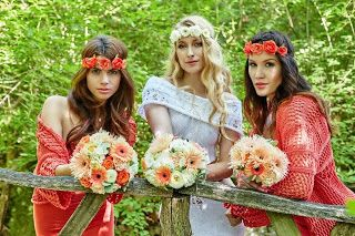 Gombolyagparty: KNITTED BRIDE - Smink kulissza
