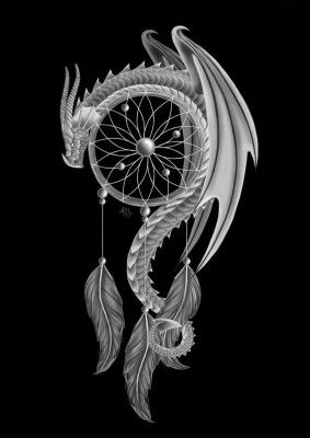 "Шкатулочка "" Дракон- ловец снов """