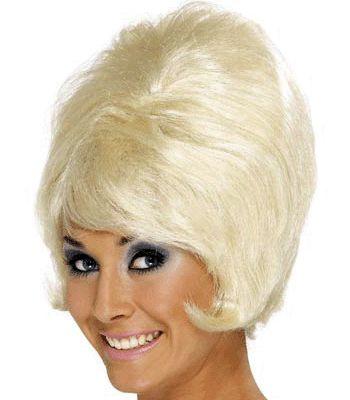 60s dames pruik peroxide blond kopen voor 17.95. Feestartikelen, Pruiken en Jaren 60 accessoires snel te leveren vanuit de pruiken winkel.