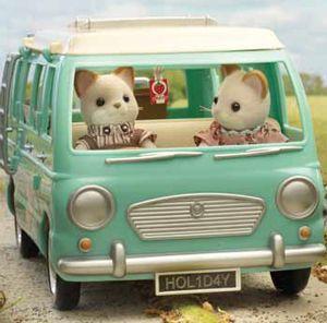 *Special Offer* Campervan + FREE Keats Cat Parents - Ref: B91