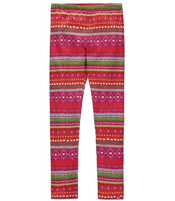$12.50, half off from Souris Mini in Quebec. Sizes 3 and 4. Colorful printed jersey leggings. CANADA # canada #kids #childrens #clothing #online