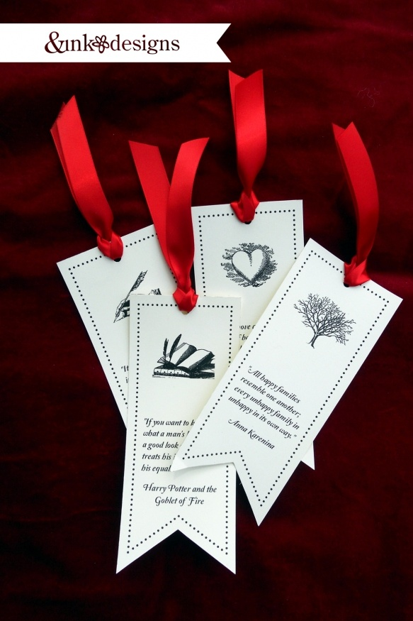 Favorite Book quote - bookmarks