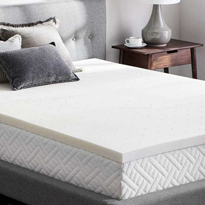 Amazon Com Weekender 2 Inch Memory Foam Mattress Topper Twin