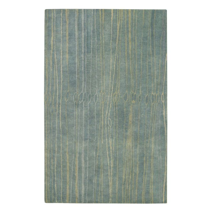 Fingerling 3284 Hand Tufted Rectangle Area Rug - China Blue   from hayneedle.com
