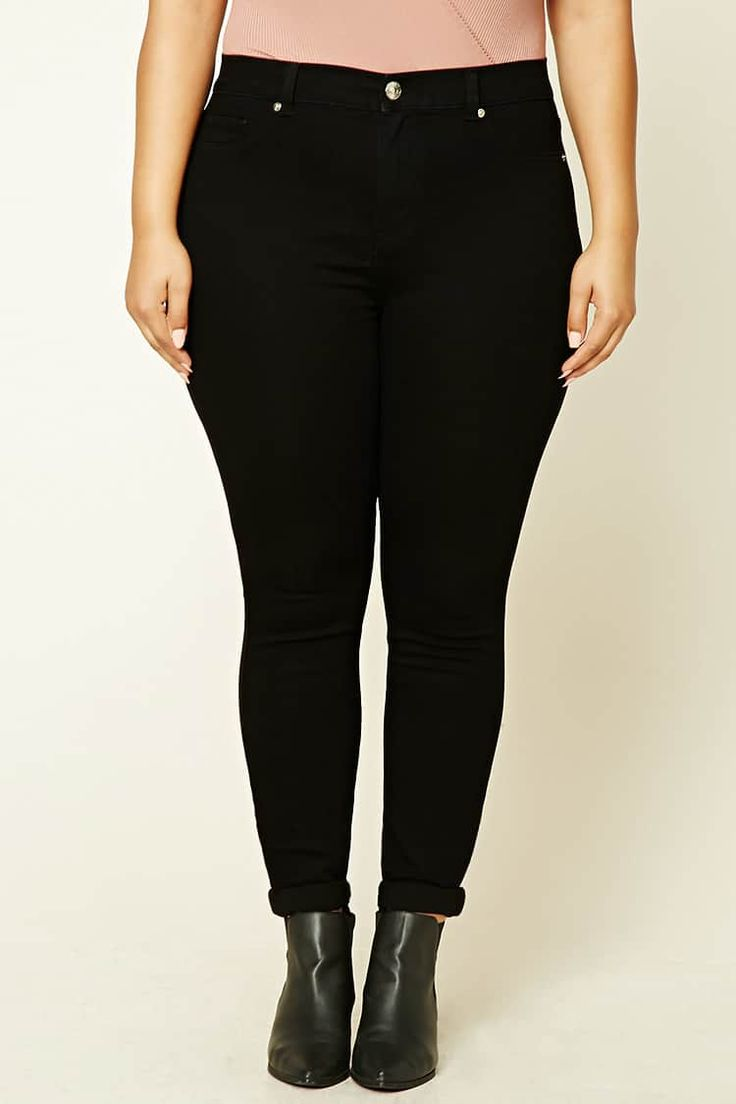 Product Name:Plus Size High-Rise Jeans, Category:CLEARANCE_ZERO, Price:19.9