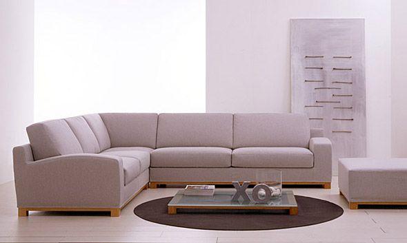 divani dal design essenziale concreto e minimalista