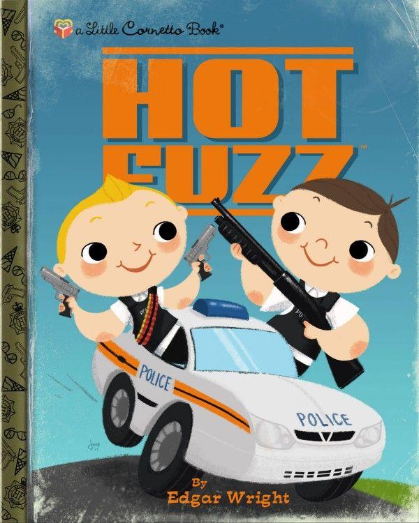 Hot Fuzz - Little Golden Book - Joey Spiotto