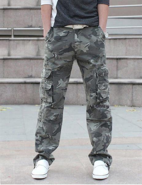 Камуфляжные брюки милитари