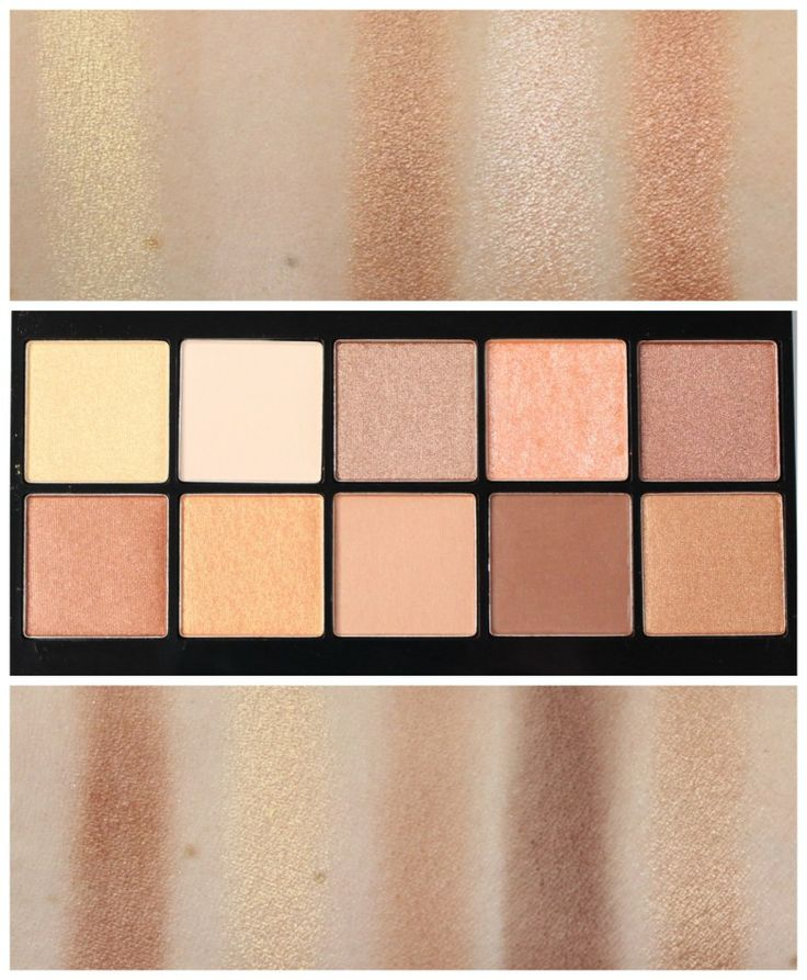 NYX Golden Hour Perfect Filter Shadow Palette| Review & Swatches!