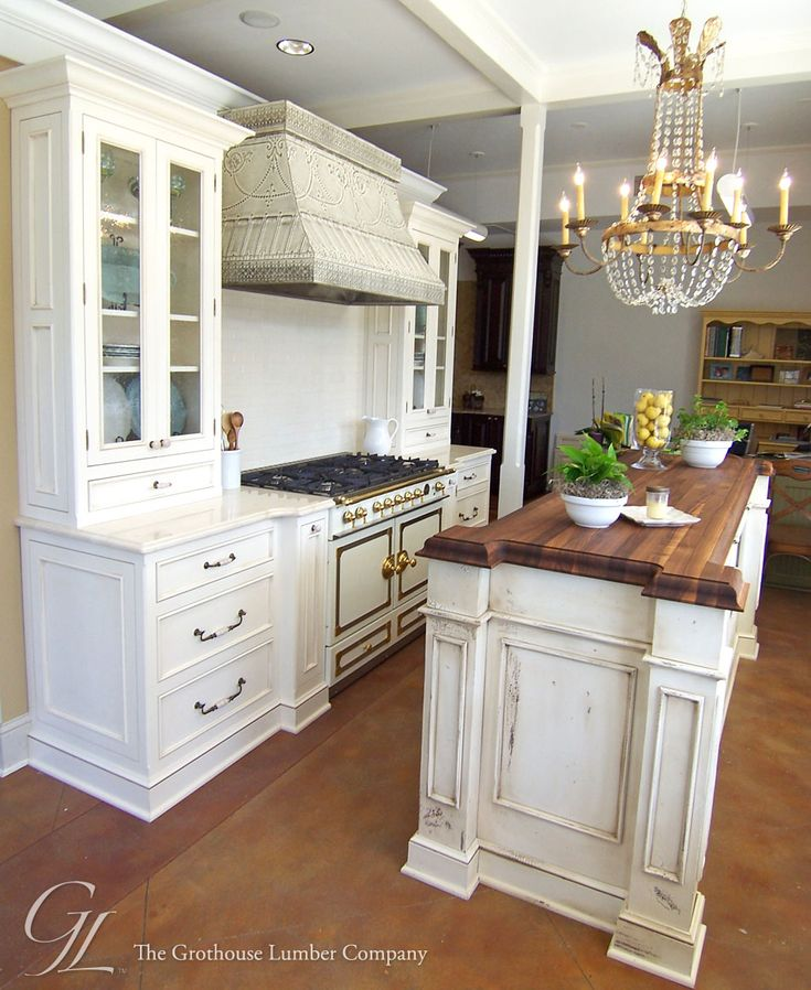 Walnut Wood Countertop Kitchen Island New Orleans, Louisiana  Https://www.glumber