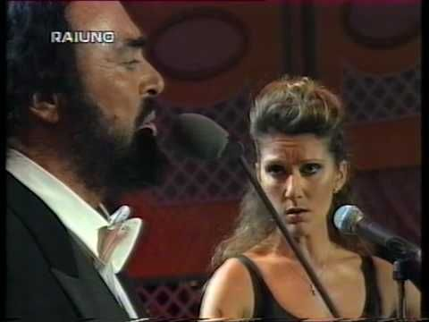 Celine Dion & Luciano Pavarotti - I Hate Then I Love You (Live @ Pavarotti & Friends 1998) a remarkable song