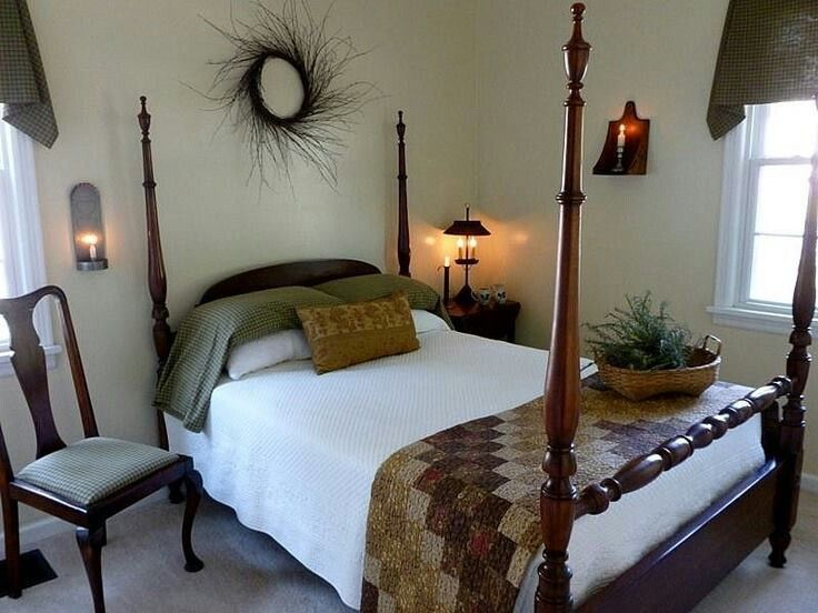 1000 images about primitive country bedrooms bedding for Cozy country bedroom ideas