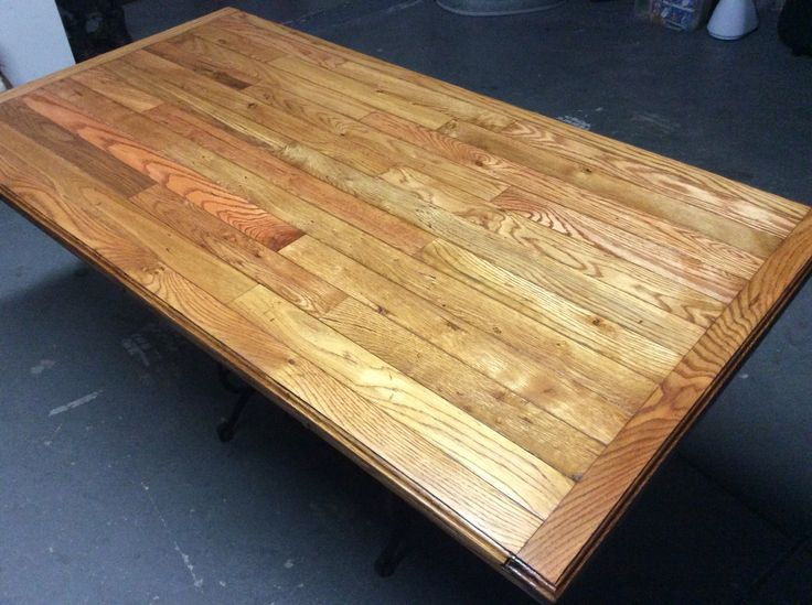 This Is Freshly Stained Used Minwax Gunstock Oak And