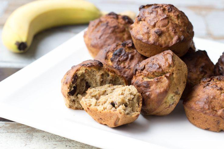 raw food vegan recepten bananenmuffins