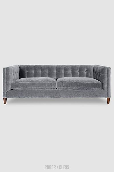 Mid-Century Modern Tuxedo Sofas, Armchairs, Sectionals | Atticus from Roger + Chris