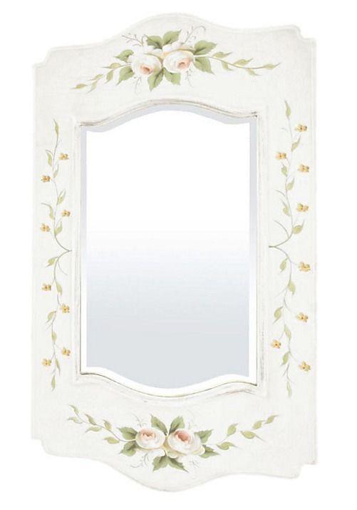 Vintage zrkadlo Kvety 3 - Najlepsinabytok.sk - Doprava ZDARMA!