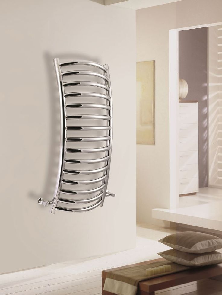 Subtlety curved wall-radiator by Vogue UK.