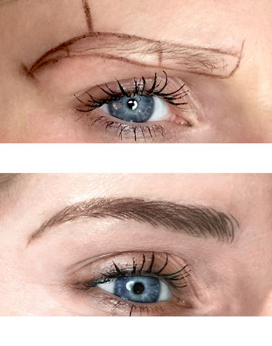 85 best microblading images on pinterest eye brows for How is microblading different to tattooing