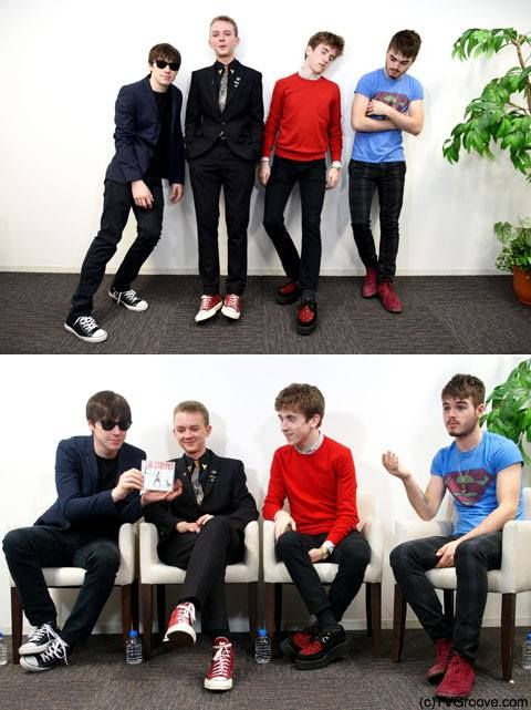 The Strypes interview. What are you doing, guys, please, explain.