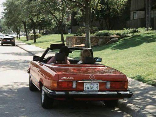 Dallas Bobby Ewing Mercedes-Benz 380 SL | Classic mercedes ...