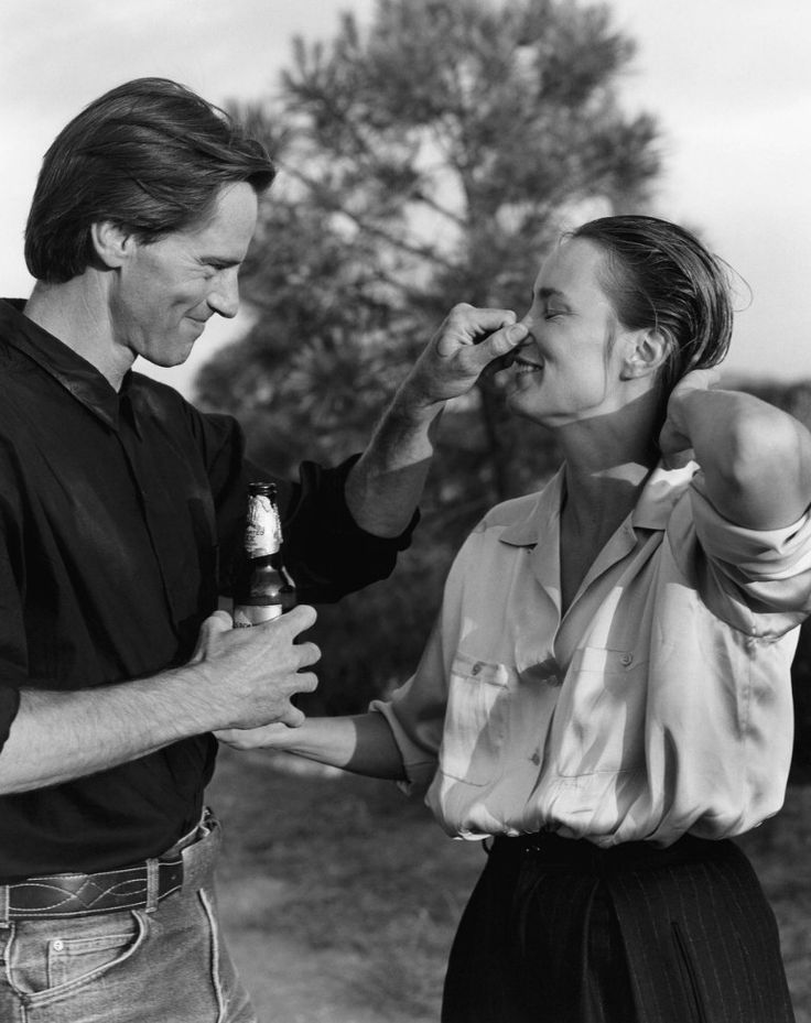Sam Shepard and Jessica Lange by Bruce Weber, 1984