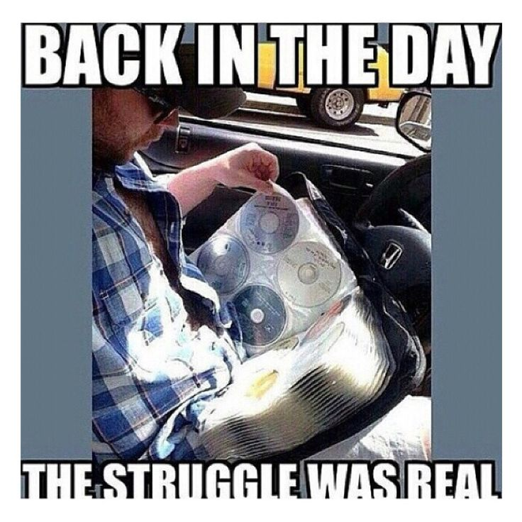 Haha, yep. My OCD ways... always kept mine in alphabetical order & when I got a new one, had to move every single cd back a spot.