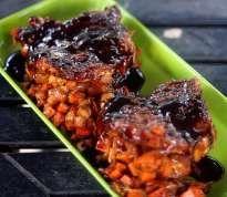 Sweet Potato and Apple Stuffed Pork Chops with Balsamic Orange Glaze   Jennifer Cooks