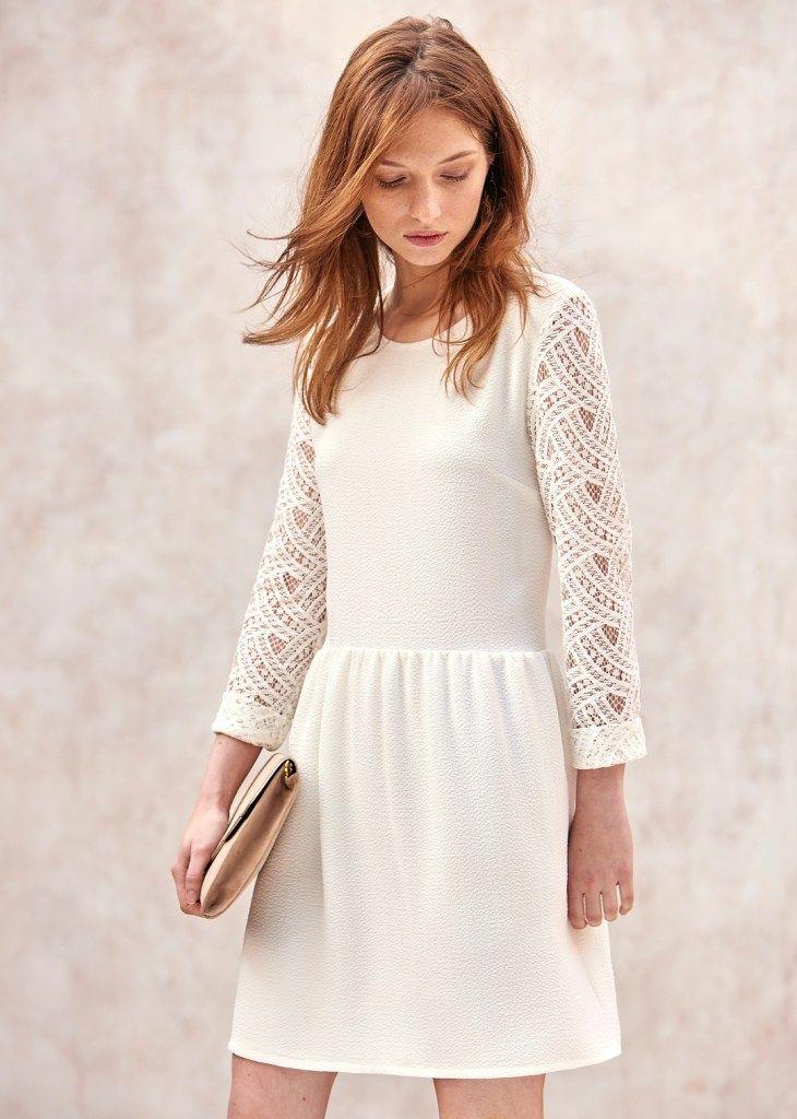 sezane,robe,eva,blanche
