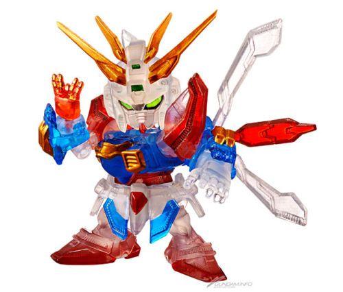 Gundam Exhibition Tokyo Limited Gashapon GF13-017NJ God Gundam