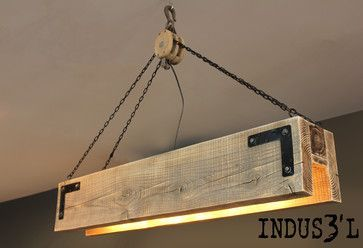 INDUS3'L - industrial - pendant lighting - montreal - Sueno Furniture & Accessories.  very interesting