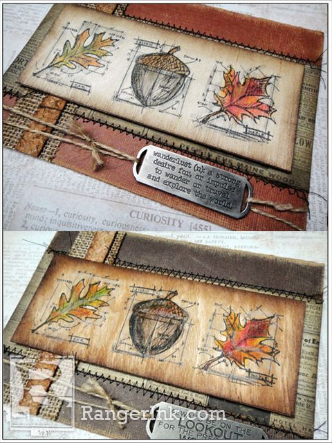 Imagine the Possibilities…Tim Holtz Colors with Distress on Real Wood Paper by Et Cetera (ETC) Papers