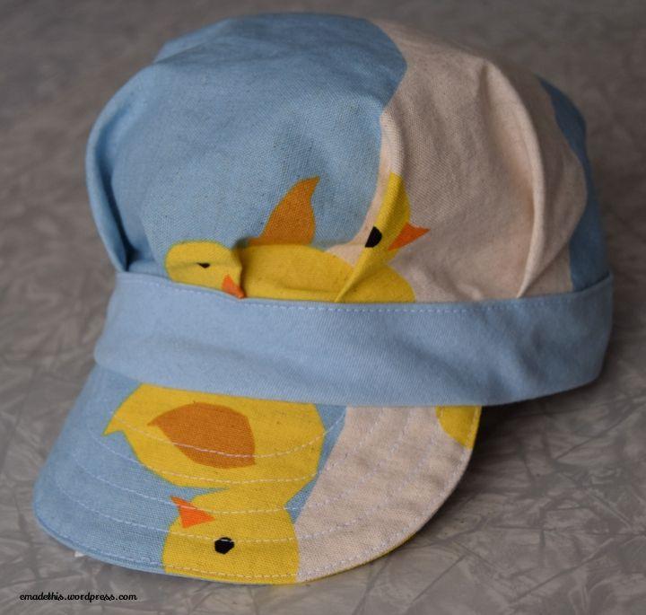 Eddie cap from Sewn Hats by Carla Crim