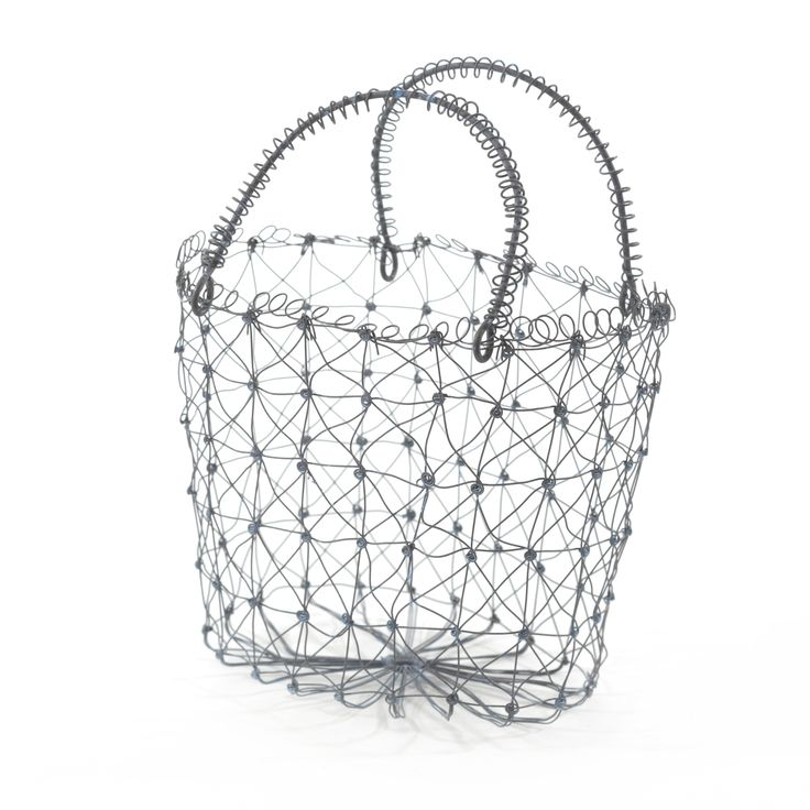 Плетеная корзина для хранения <br /> Металл <br /> H15xL18xW12 см