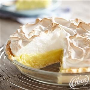 Gluten Free* Lemon Meringue Pie from Crisco®