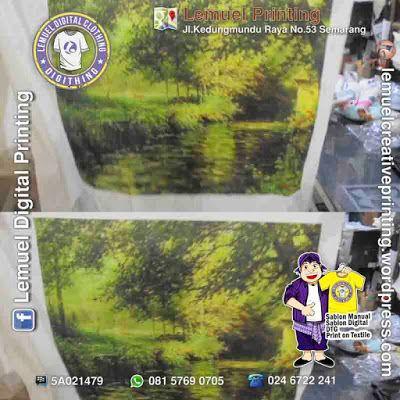 Custom Print Textile Kain Kanvas Jepang Berkualitas by DIGITHING