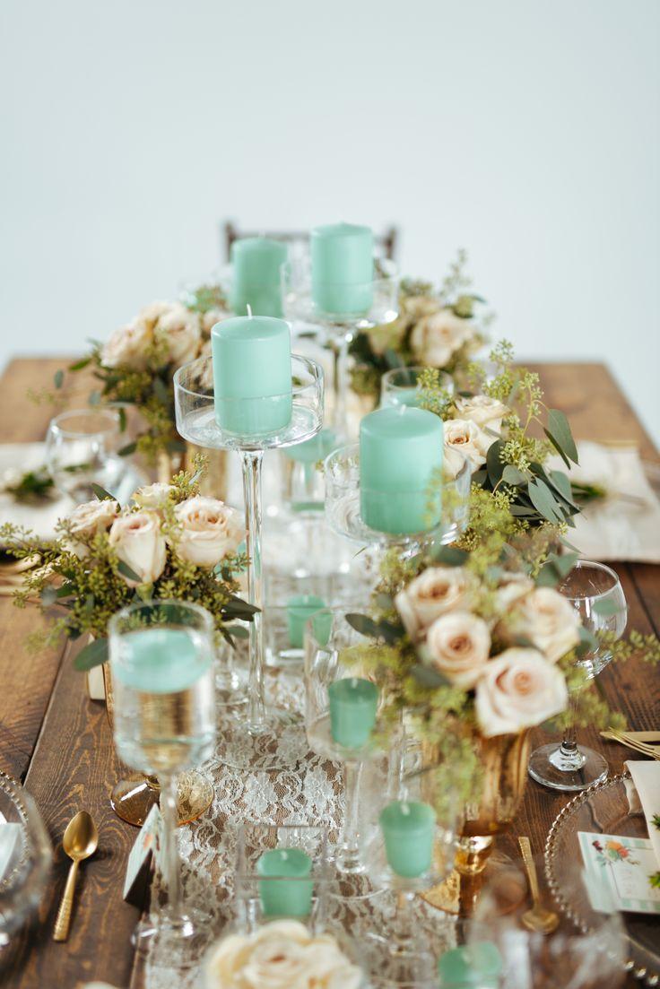 Photography: Cojo Photo - http://www.stylemepretty.com/portfolio/cojo-photo   Read More on SMP: http://www.stylemepretty.com/canada-weddings/2014/12/30/mint-gold-and-blush-wedding-inspiration-shoot/