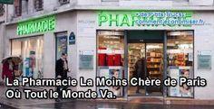 Je ne vais pas souvent à la pharmacie. Mais quand j'y vais, je choisis toujours la moins chère de Paris. Son petit nom ? Citypharma (lien vers le site web). Elle se trouve au 26 rue du Four à Paris dans le 6e arrondissement. Le métro le plus proche est Mabillon ou Saint-Germain-des-Près.  Découvrez l'astuce ici : http://www.comment-economiser.fr/pharmacie-la-moins-cher-paris.html?utm_content=bufferf199e&utm_medium=social&utm_source=pinterest.com&utm_campaign=buffer