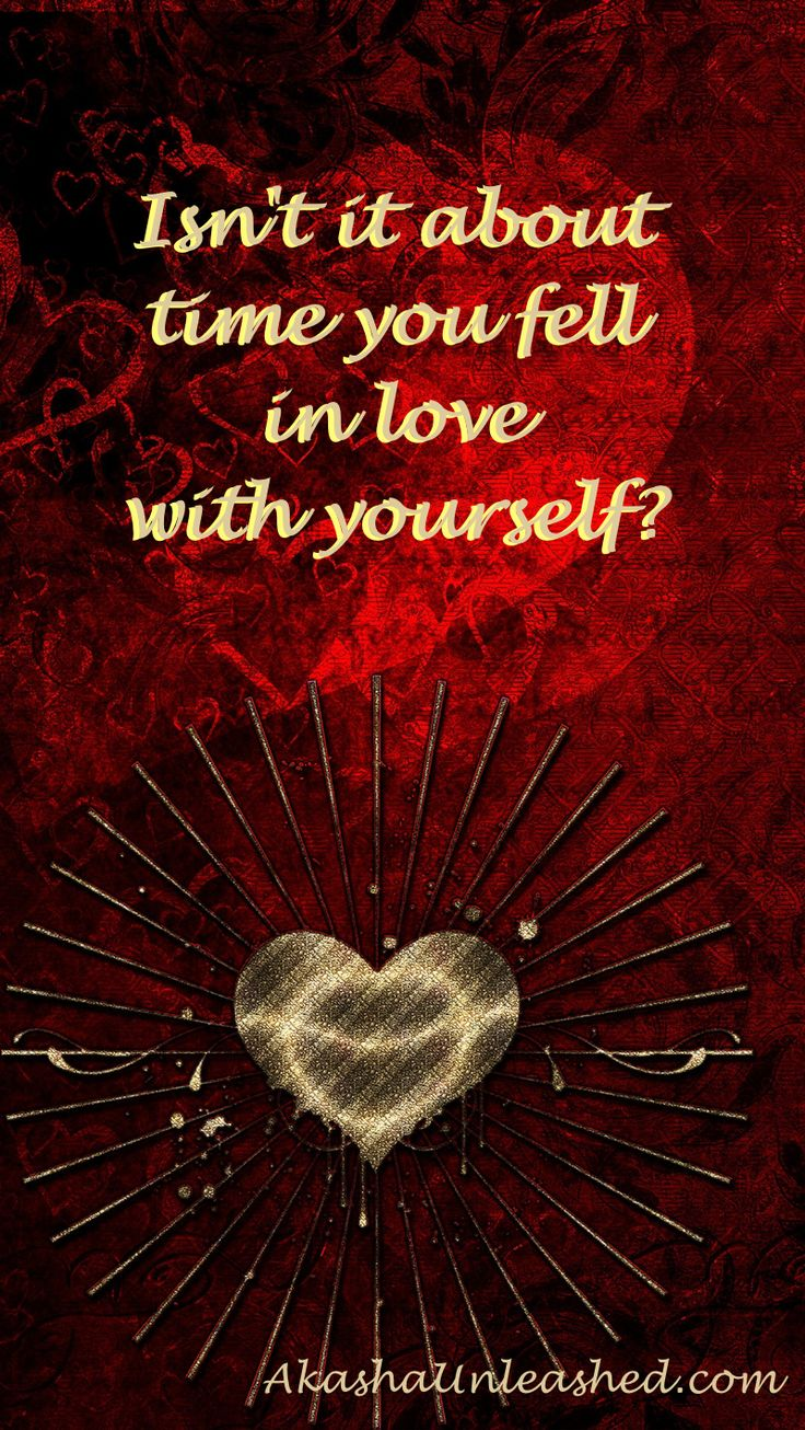 Fall in love with yourself! #loveyourself #AkashicRecords #selfesteem #Joy #bliss