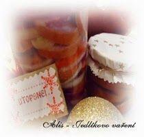 Jedlíkovo vaření: Typ na jedlé vánoční dárky - domácí utopenci #vanoce #darky #napady #peceni #recept #utopenci