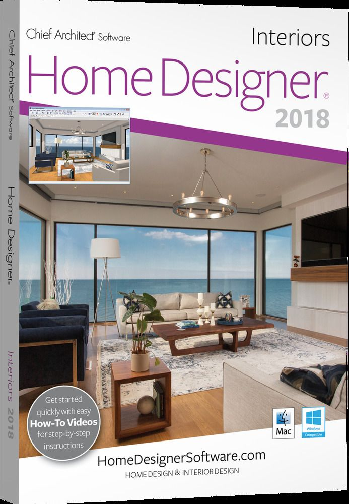 Chief Architect Home Designer Interiors 2018 Dvd Ebay