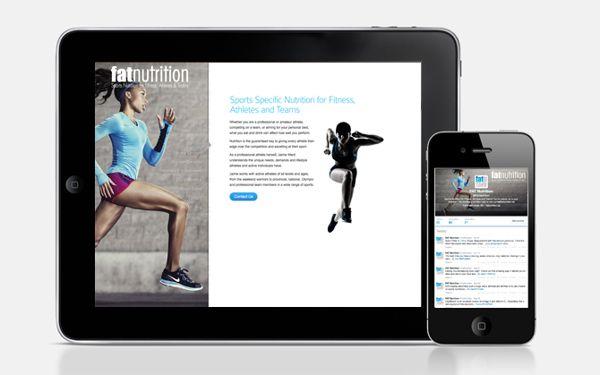FAT Nutrition App & Website design http://www.yassinward.com